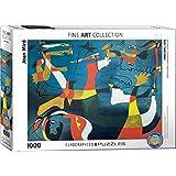 """Eurographics """"Joan Miró Hirondelle Amour"""" Puzzle (1000 piezas, Multi-Color)"""
