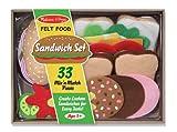 Melissa & Doug 3954 Felt Food-Sandwich S...