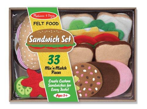 Felt Food Sandwich Set (Sandwich-server)