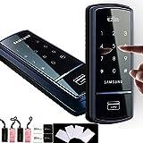 SHS SAMSUNG, 1321 Digitales Türschloss mit touchpad schlüsselloses Sicherheit EZON 4 Karten) (RFID, mit 4 Schlüssel Anhänger mit 4 Sticky Schlüsselanhängern