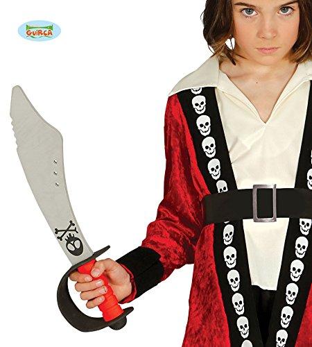 Espada Pirata Goma Eva 43 cm para niños