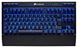 Corsair K63 Clavier Mécanique Gaming sans Fil (Cherry MX Red, Rétro-Éclairage LED...