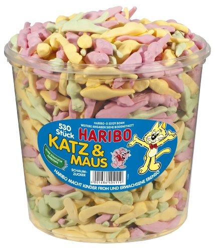 HARIBO Katz und Maus,3er Pack (3x 1.06 kg)
