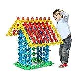 Brain Flakes Copos de nieve Bloques de construcción Rompecabezas Construcción Juguetes Entrelazados Discos Puzzle Game Juguetes educativos para niños (720 / 240PCS) (720 pcs)