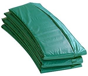 Upper Bounce - Cubierta de Protección para Bordes de Repuesto (Cubre Resortes Muelles) para Cama Elástica Trampolín Redondo 3.96 m - Cerco 25.4 cm - Verde