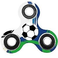 Hand Spinner, Saingace Football Pattern Fidget Spinner