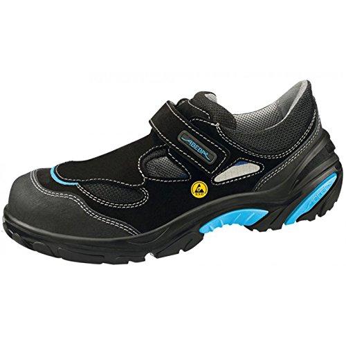 Abeba , Herren Sicherheitsschuhe mehrfarbig schwarz / blau 37 EU Schwarz / Blau