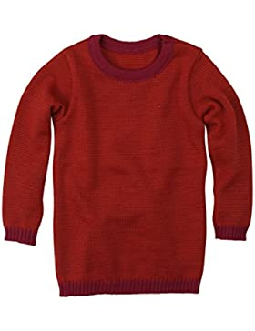 Disana Basic-Pullover - Wolle Strickpullover