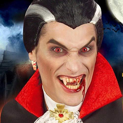 RATWIFE Halloween Perücke Vampir Cosplay Charakter Urlaub Leistung Perücke Halloween Weihnachten Party Perücke