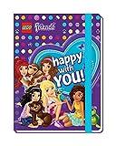 Lego Bullyland 51605 Bloc-Notes Friends avec Bande élastique