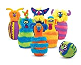Best Melissa & Doug Indoor Toys - Melissa & Doug Monster Plush Bowling Game, Multi Review