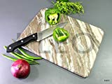 KLEO 22.9 x 45.7 cm Handmade Rectangle Shape White Marble Cutting Board Cheese Board Cheese Plate Kitchen Appliance Wine Serving Dish - Chopping Board / Cheese Board