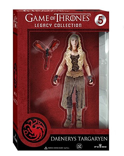 Funko 3907 Game of Thrones Toy - Daenerys Targaryen Deluxe Collectable Action Figure 2