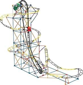 KNEX 17038 Thrill Rides  Jeu Construction  Circuit Frelon Rapide  2 Modèles Motorisés