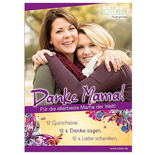 Grazie mamma. 12buoni regalo per la tua mamma. La Festa della mamma, Compleanni o semplicemente So. 12X grazie dire. 12X amore schenken. BUONI regalo per attività comuni, tempo di toechtern con la sua mamma.