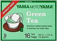 Yamamotoyama Green Tea Bags, 1.13-Ounce (Pack of 6)