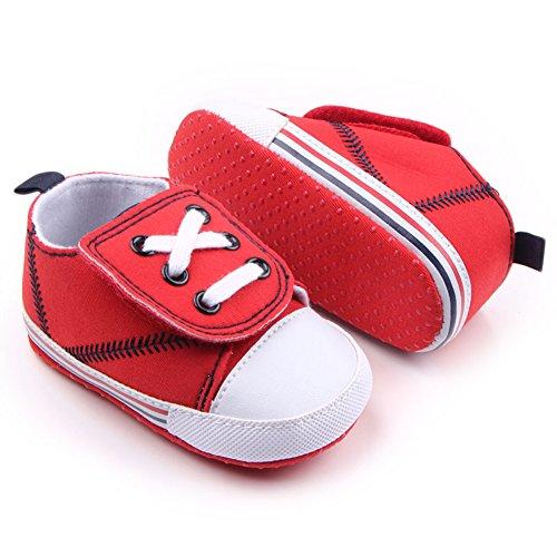 leap frog  Big Velcro Sneaker, Baby Jungen Lauflernschuhe Rot