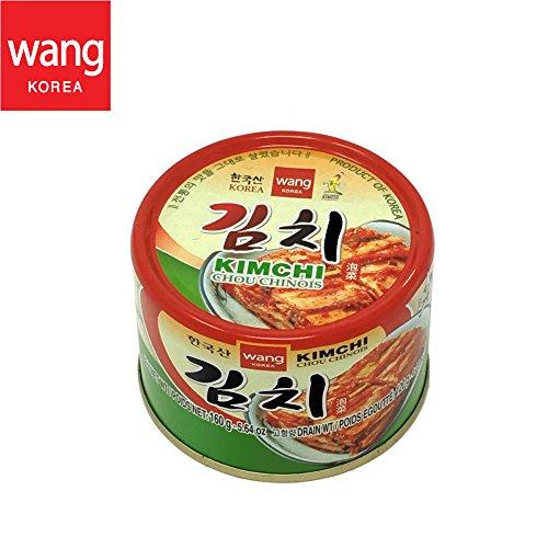 Koreanische Dosen-Kimchi, original authentische geschmackvolle Dose-Napa-Kohl-Kim-Chi-Würzmischung, Vegan Glutenfrei [Ohne Konservierungsstoffe] - 5.64 oz (1 Dose)