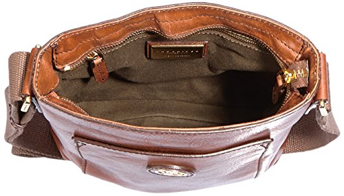 The Bridge Bureau Sac bandoulière cuir 22 cm Braun