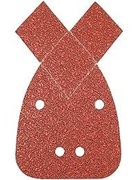 Silverline 597635 Hook & loop détail Feuilles Ponceuse avec 2 Tips 140 mm 10 2 x 40/2 x 60/2 x 80/2 x 120/2 x 240 grit