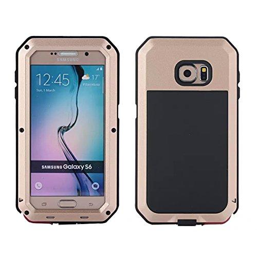 Wendapai Samsung Galaxy S6 G9200 wasserdicht Hülle, IP-68 wasserdicht stoßfest Dust Proof Snow Proof Full Body Schutz Hülle Hülle zum Samsung Galaxy S6 G9200 Screen - Brown