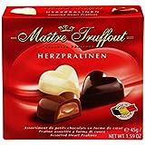 Chocolates Belgas en Forma de Corazón, 45g