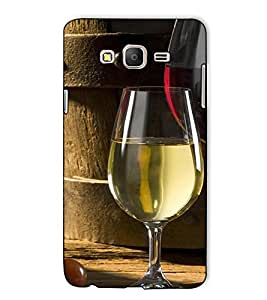 Fuson Designer Back Case Cover for Samsung Galaxy On7 Pro :: Samsung Galaxy On 7 Pro (2015) (A Glass Of Wine Theme)
