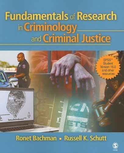 Fundamentals of Research in Criminology and Criminal Justice [With CDROM] by Ronet Bachman (2010-06-01)