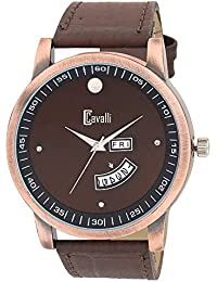 Cavalli Analogue Brown Dial Men's & Boy's Watch - Cs2678