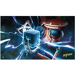 Fantasy Flight Games-KFS04 KeyForge: Positron Bolt Playmat (FFGKFS04)