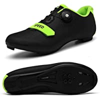 VIPBQO Men's Cycling Shoes Spin Shoestring with Compatible Cleat Peloton Shoe with SPD and Delta for Men Lock Pedal Bike…