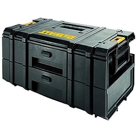 DeWalt DWST1-70728 Tough Box DS250 Werkzeugbox und Organizer mit 2 Schubladen