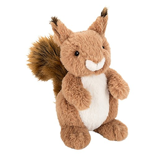 john-lewis-buster-the-boxer-sid-the-squirrel-plush-soft-toy-brown-h22cm