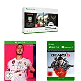 Microsoft Xbox One S 1TB - The Division 2 Bundle + FIFA 20 + Gears 5