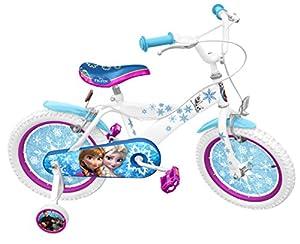 """Stamp- Disney Frozen Bike 16"""", Color Blue (RN240027SE)"""