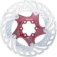 heresell Disco Flotante, Multifunción Bicicleta De Montaña Disco Flotante 203 Mm Seis Pastillas De Freno De Disco De Uñas