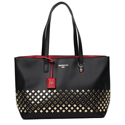 nicole-lee-rowan-diamond-studded-tote-bag-black