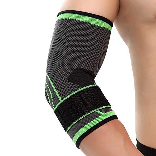 Tianzhiyi Accessoires de Fitness Coussin De Protection pour Coude Élastique Coussinets De Soutien De Coudière De Soutien De Coude Sportif (L/XL) (Size : L)