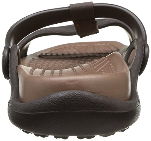 Crocs Cleo III, Sandales femme Marron (Espresso/Bronze)