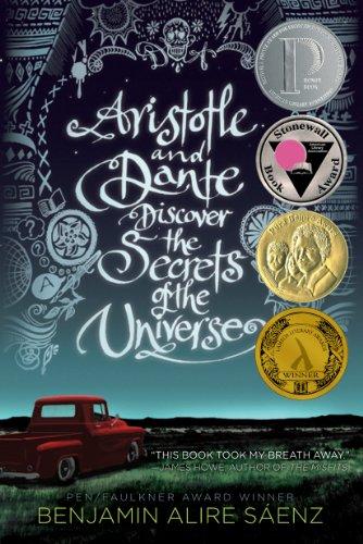 Buchseite und Rezensionen zu 'Aristotle and Dante Discover the Secrets of the Universe' von Benjamin Alire Saenz
