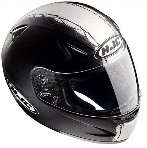 Casco Integrale Moto HJC CS-14taglia XL 52colori nero e grigio lucido nove