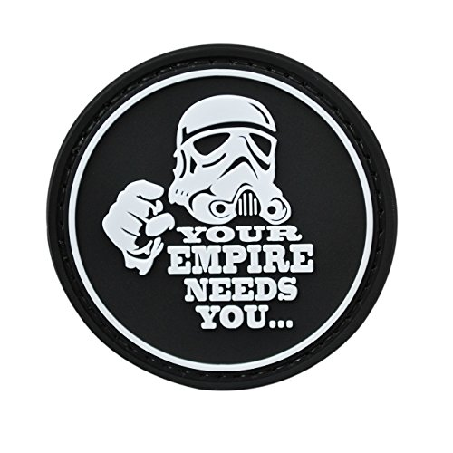 Your Empire Needs You Star Wars goma de PVC. La Moral Patch by Neo Tactical Gear la moral Patch de alta calidad –  – Gancho de velcro cosido en espalda