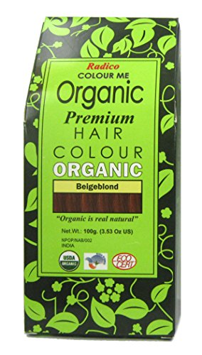 Radico Colour Me Organic Pflanzenhaarfarbe Beige-Blond (bio, vegan, Naturkosmetik) BeigeBl