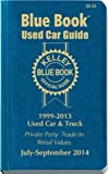 Kelley Blue Book Used Car Guide: Consumer Edition July-September 2014 by Kelley Blue Book (July 07,2014)