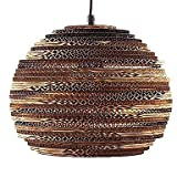 CNMKLM Ambient Modern Large 40cm Retro Round Sphere Globe Shaped Chinese Paper Lantern Ceiling Pendant Lamp Shades