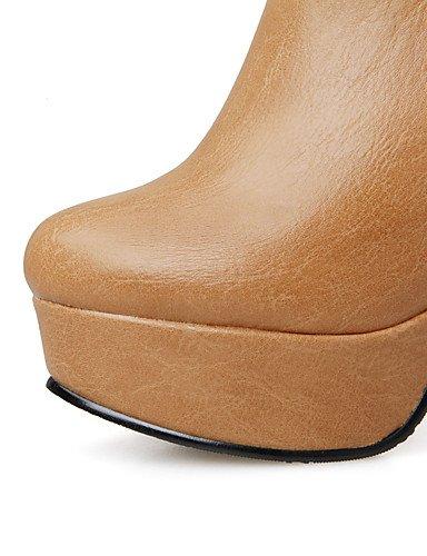 ShangYi Mode Frauen Schuhe Damenschuhe Heels Stiefel Mode / Outdoor / Büro & Karriere / Casual Ferse OthersBlack / &199-2 Weiß
