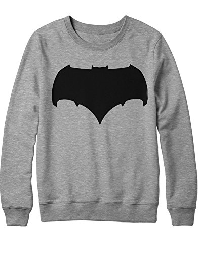 Batman Superman V Kostüm Aquaman - Sweatshirt Bat V Super Comic Kostüm C980002 Grau XXL