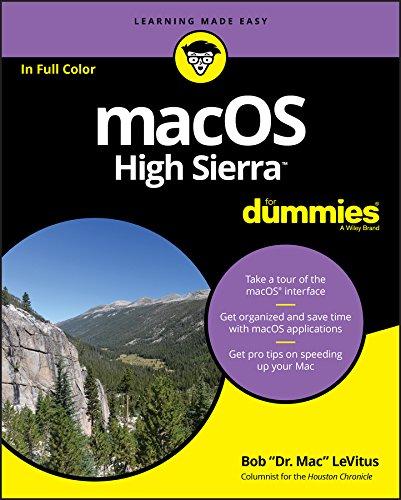 macOS High Sierra For Dummies (English Edition) por Bob LeVitus