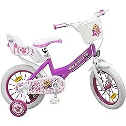 "Bicicleta 14"" Paw Patrol Rosa Skye"