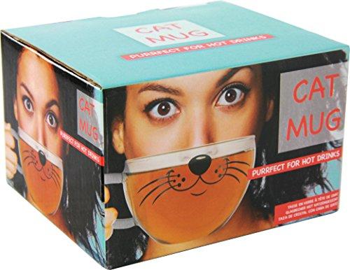 Cat-Tazza Mug, colore: trasparente